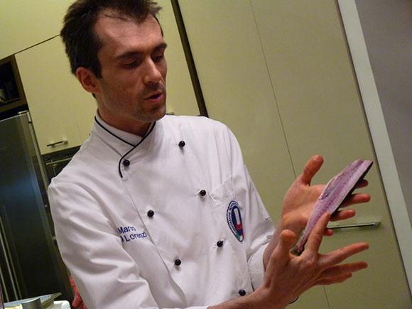 Marco Di Lorenzi, lo chef che traduce la poesia in gusto