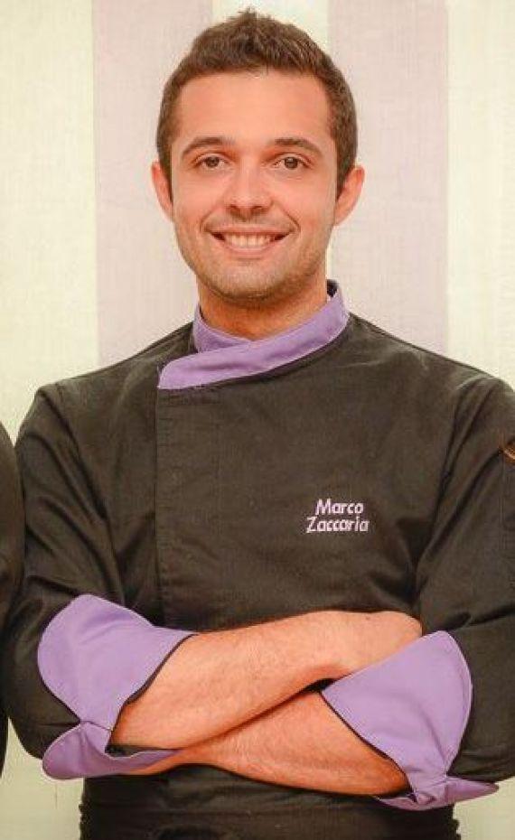 """Marco Zaccaria lo chef  con....""""sale in zucca"""""""