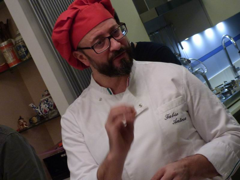 Fabio Antosa, chef e docente di Otto in Cucina